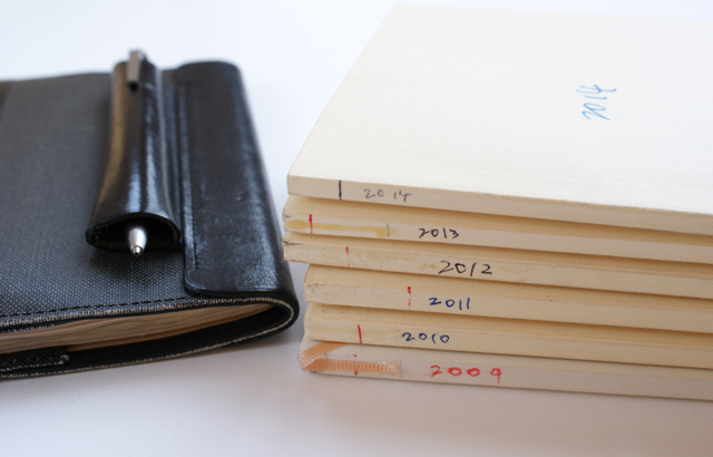 手帳の書き方 2015年 高橋書店 ラフィーネ ポスタルコ カレンダーカバー