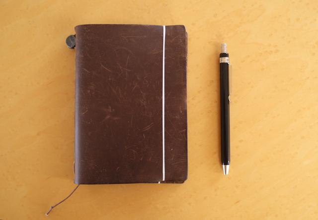 デザインフィル トラベラーズノート パスポートサイズ