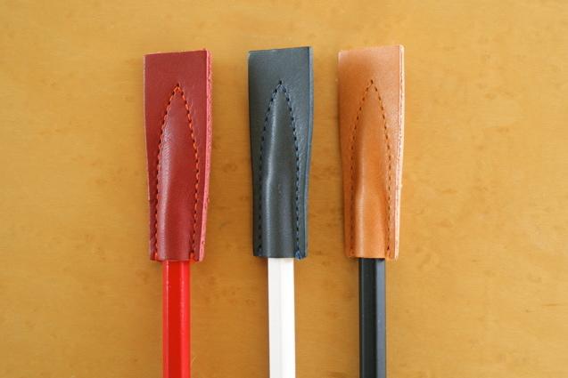 SUMEDERU レザー製鉛筆キャップ