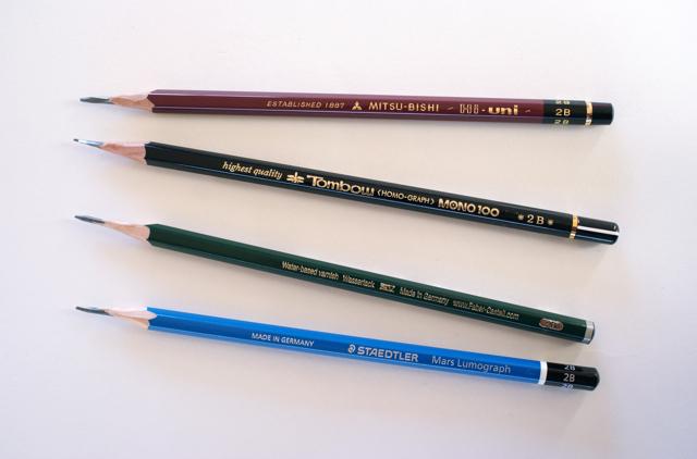 鉛筆の個性