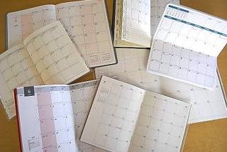 マンスリー スケジュール帳を比較検討する