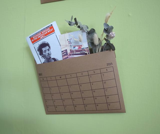 MUCU エンベロープ カレンダー KAKUNI