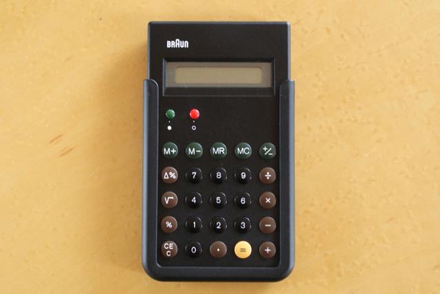 ブラウン BRAUN 電卓