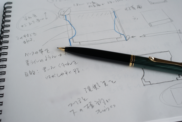 ペリカン D400 ノック式シャープペンシル 0.7mm