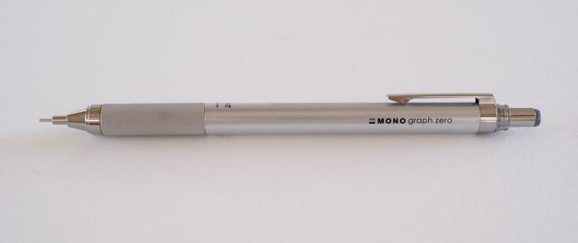 トンボ鉛筆 モノグラフ ゼロ シャープペン