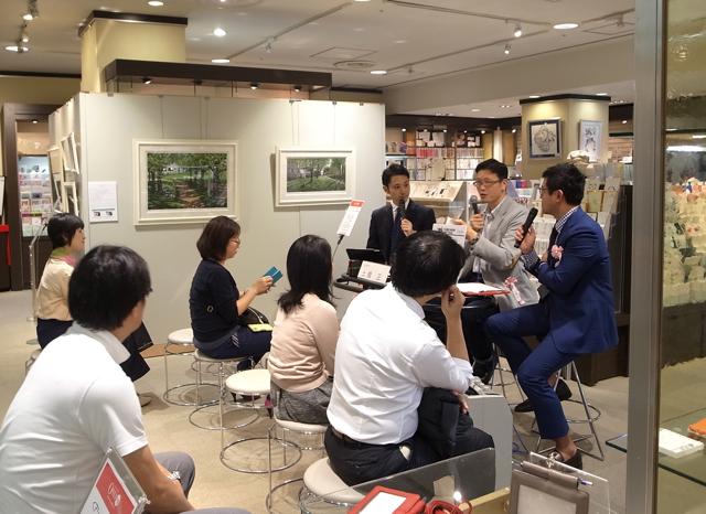 アシュフォード トークショー 日本橋三越 2016年9月
