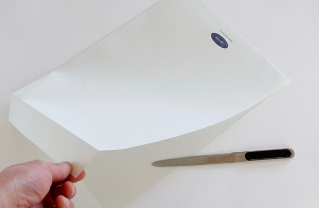 コクヨ レターオープナーで封筒フォルダー作成