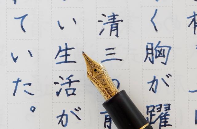 なぞり書きで楽しむ 文豪の名作 セーラー万年筆 プロフィット21長刀