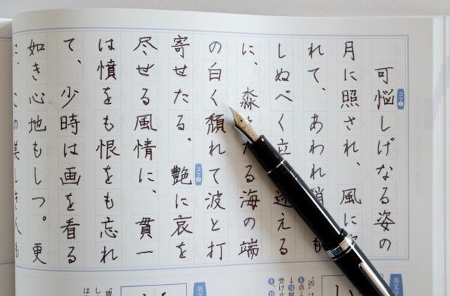 なぞり書きで楽しむ 文豪の名作 セーラー万年筆 プロフェッショナルギア