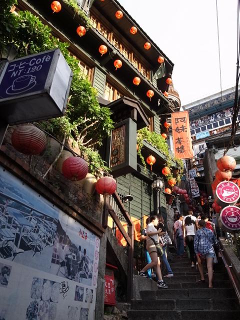台湾 九份 2017年8月