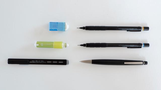 トンボ鉛筆 モノワン 消しゴム シード レーダー ぺんてる クリックイレーザー