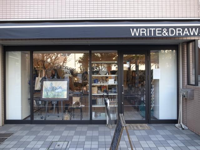 ショップ WRITE & DRAW.