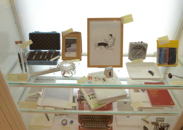「土橋正の心地よく仕事するための文具・道具」ロルバーンギャラリー