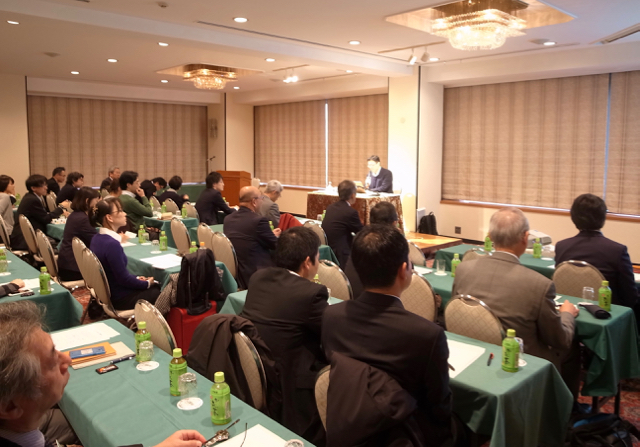 日本筆記具工業会 講演 「私にとって書くという行為とは」