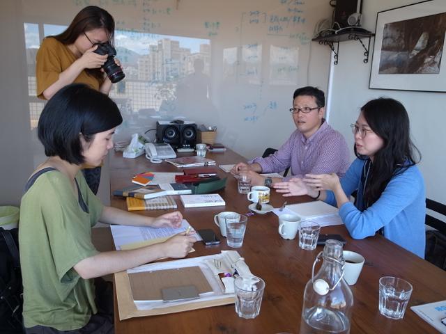 台湾 行人文化実験室 2017年8月