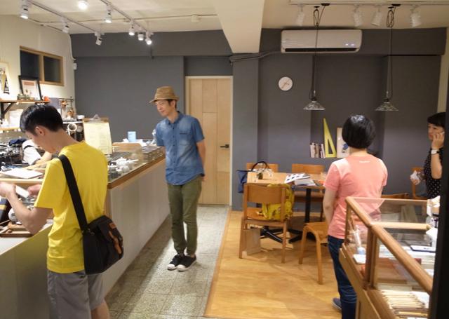 台湾 Plain Stationery & Cafe 2017年8月