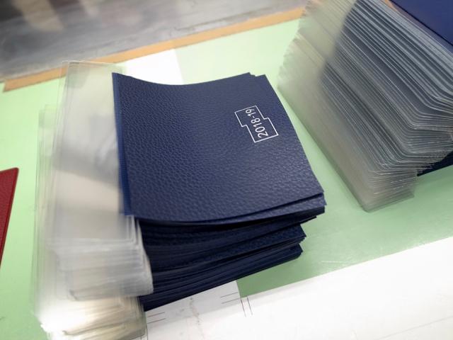 フレームマンスリー手帳 ウェルダー工場