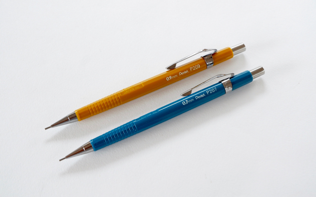ぺんてる シャープペン P207 P209