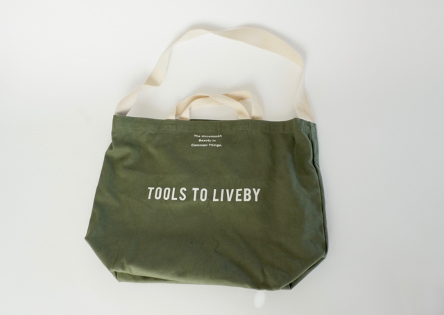 Tools to lively トートバッグ