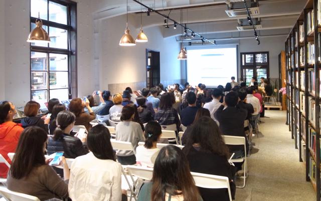 台湾 RENSA2018 トークイベント Not just library