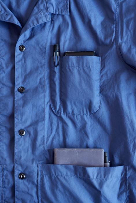 D&DEPARTMENT バックポケットシャツ