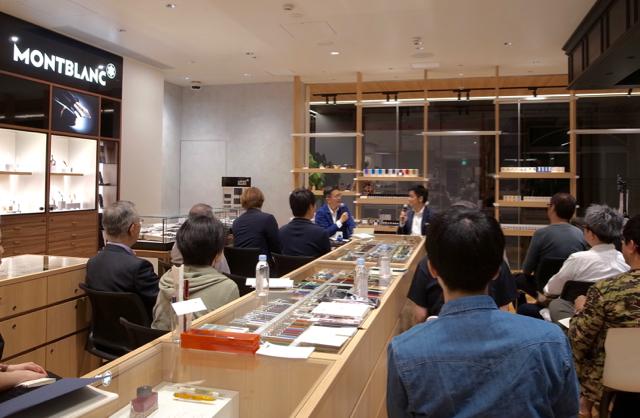 トークイベント 銀座・伊東屋 横浜元町「使う万年筆 土橋正の場合」