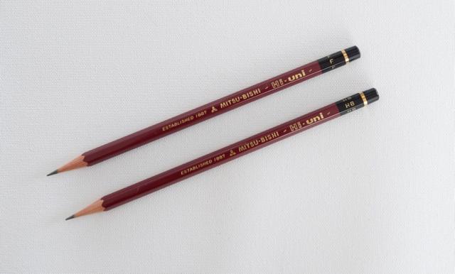 三菱鉛筆ハイユニ F HB