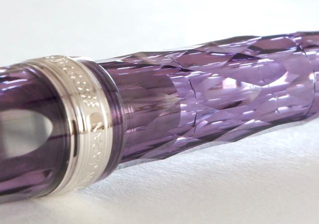 プラチナ万年筆 #3776 センチュリー 紫雲