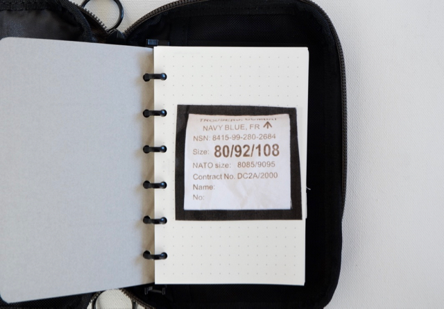 アシュフォード リフィルパッドポーチ M6 システム手帳