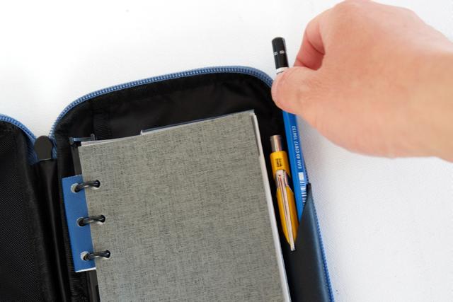 アシュフォード リフィルパッドポーチ pen-info Tools ペンシルホルダー